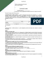 Conventie Cadru RISE an II Non Proiect 2015 2016