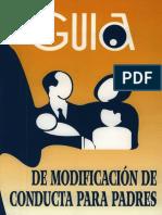 Guia de Modificacion de Conducta Para Padres