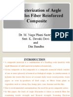 Characterization of Aegle Marmelos Fiber Reinforced Composites