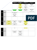 STAGE 1 EXAM Schedule - Semester 1 2016