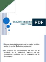 Bulbos de Resistencia Electrica
