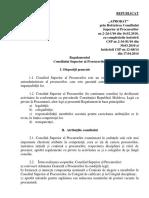 Regulament CSP Modificat