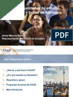 Charla DAAD - Estudiantes