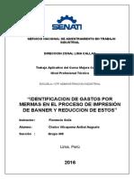 Mejora Continua para reducción de mermas en proceso de impresión