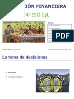 Educación Financiera 4º  ESO LOMCE CYL