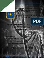 SEMINARIO BIOLOGÍA- ENFERMEDADES LIGADAS A LOS AUTOSOMAS Y ALOSOMAS