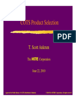 COTS Product Selection.pdf