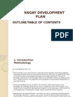 Barangay Development Plan