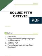 Presentasi Solusi Ftth Optiviel Cable