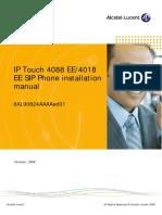 Alcatel IPTouchSIPphonesinstallation