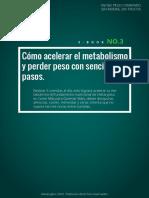 Acelerar El Metabolismo rápido y bajar de peso