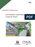 Matériaux Autocompactants CT-T62