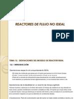 Tema 13 Reactores de flujo no ideal