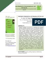 IMPURITY PROFILING OF PHARMACEUTICALS.pdf