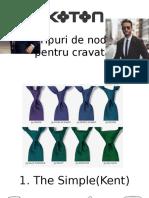 Tipuri de Nod Pentru Cravata