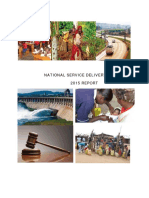 National service delivery survey 2015 report