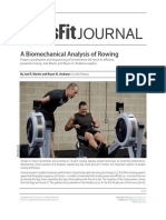 A Biomechanical Analysis of Rowing [CrossFit Journal ]