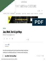 Jazz, Math, Tech & Lyle Mays