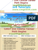 CMGT 554 Course Career Path Begins Cmgt554dotcom
