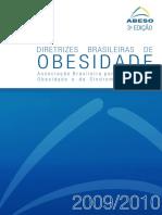 Diretrizes Brasileiras Obesidade 2009 2010 1