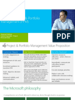 Microsoft Project and Portfolio Management (PPM) - Solution Overview