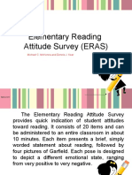 Reading Attitude Survey