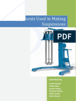 Equipments Used in Making Suspensions