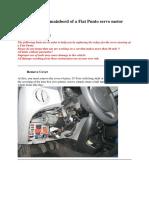 Ausbau-Servomotor Punto Eng