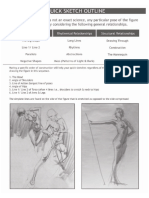 Drawing Human Figure - Reilly Method