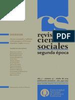 Revista de Ciencias Sociales, 27