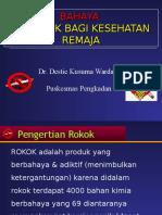Bahaya Merokok Bagi RemajaOK