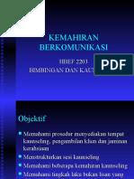 Bab 3 - Kemahiran Komunikasi Dalam B&K