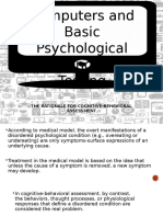 Computers and Psychological Testing