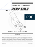 Troy Bilt Mower Manual l 0601231