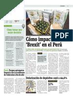 Cómo Impactará El Brexit en El Perú