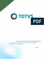 Parecer Consultoria Tributária Segmentos – TQGUOL - Aproveitamento de Creditos Do Período de Geração Da EFD-Contribuições – Registro M100