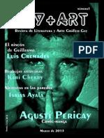 GayArt Revista de Literatura y Arte Grafico Gay