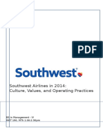 Southwest Airlines in 2014