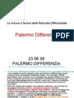Palermo Differenzia - Raccolta Dati