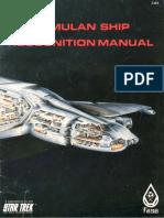 2303 - Romulan Ship Recognition Manual