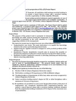 M.sc. IT Project Guidelines