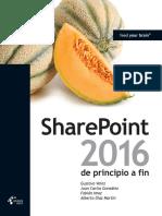 SharePoint 2016 de Principio a Fin - VVAA