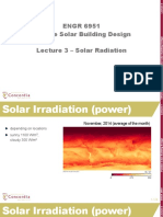 Lecture 3 Solar Radiation