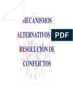 Arbitraje - Mecanismos Alternativos