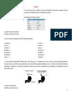 Estudo Dirigido Funcoes Inorganicas
