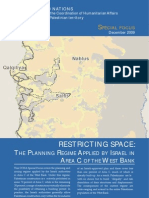Report Dec09 ENG [OCHA -- Special Focus on Area C Demolitions]