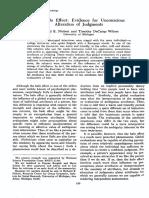 35 J Personality Social Psychology 250 (Nisbett)