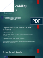 slope stability analysis using Flac