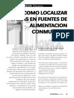 Fallas Fuentes (Conmutadas y Demas)