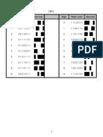 UPC barcode decoding